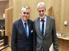 Μ. Χαρακόπουλος προς Χρ. Στυλιανίδη: Συνεργασία ΔΣΟ-ΕΕ για την προστασία των χριστιανών της Μ. Ανατολής
