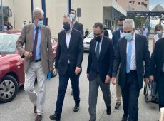 Χαρακόπουλος με Κοντοζαμάνη στη Λάρισα: Έμπρακτη στήριξη της κυβέρνησης Μητσοτάκη στο ΕΣΥ!